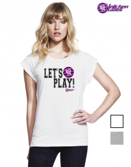 Damen T-Shirt let's play