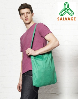 Salvage Recycled Sling Tote Bag