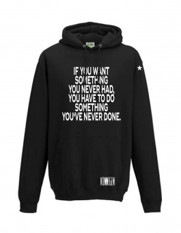 Herren Hoodie WANT SOMETHING